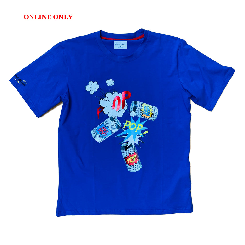 Bear The Beams S/S Tee BTT21 Royal