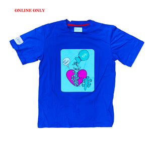 Bear The Beams S/S Tee BTT23 Royal