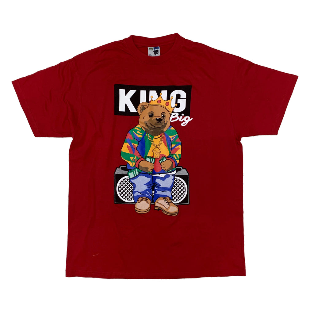 3 Forty S/S T-Shirt Biggie Red