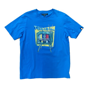 Cult of Individuality S/S Tee 69A6-K67A Royal Blue