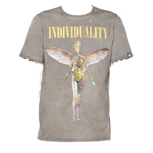 Cult of Individuality S/S Tee 69B10-K18A SMOKE