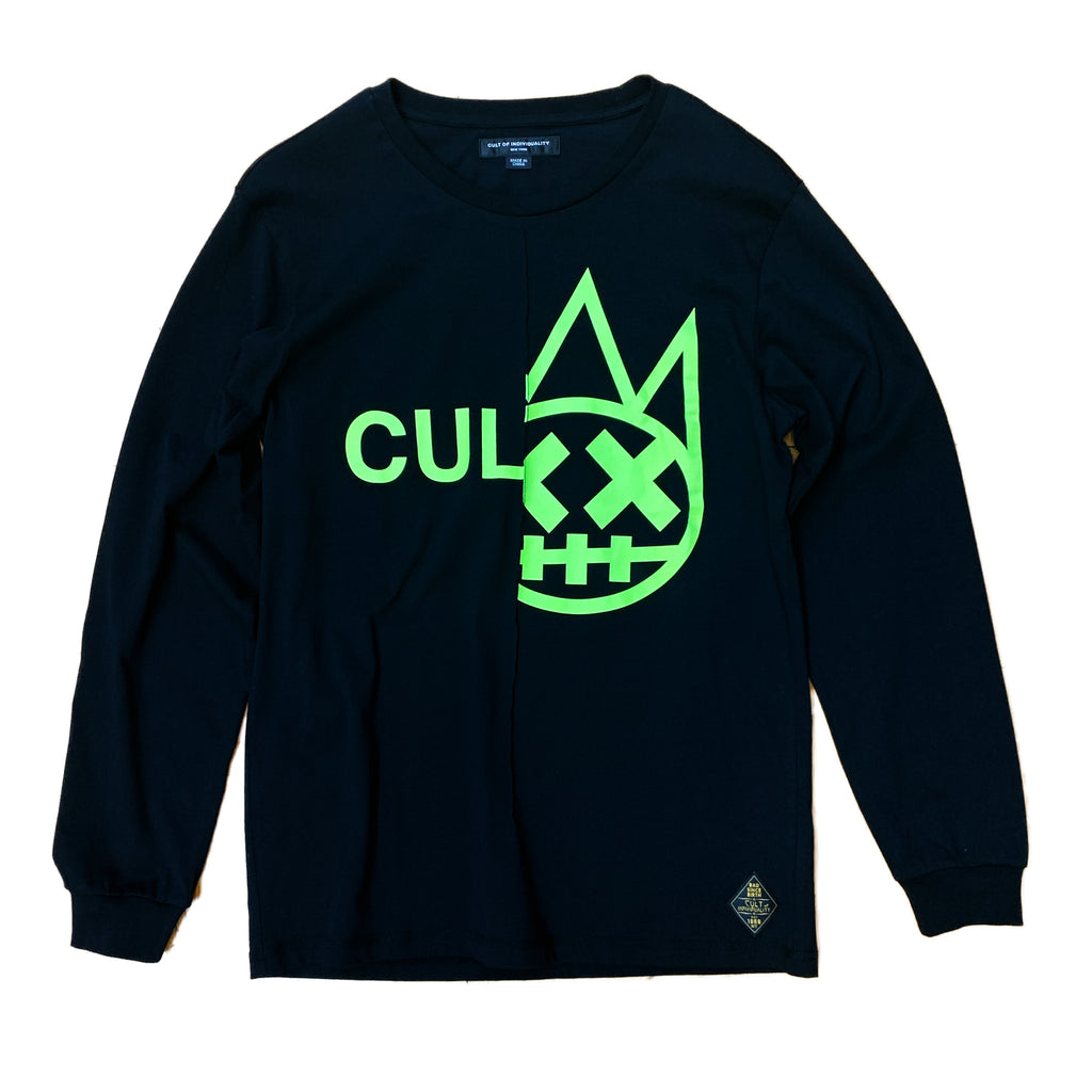 Cult of Individuality L/S Tee 68B8-KL71A BLK S