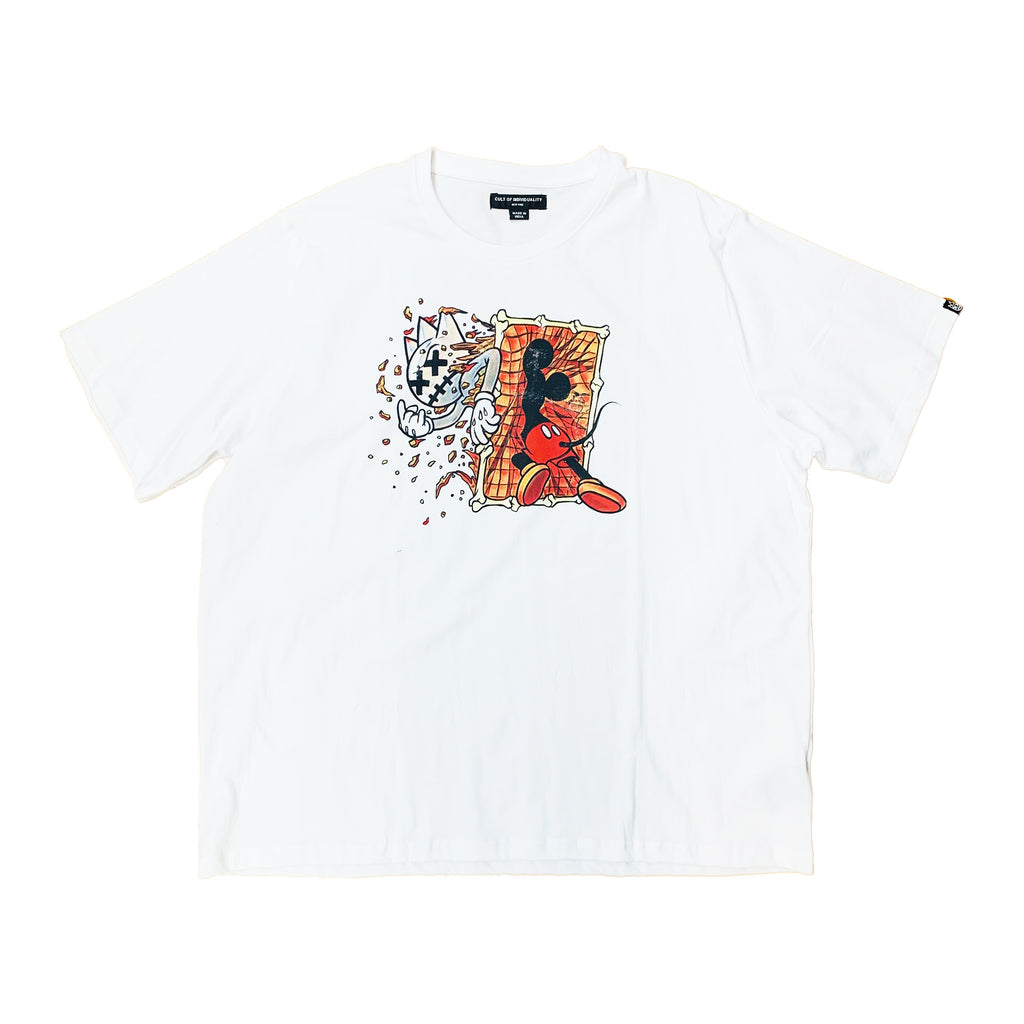 Cult of Individuality S/S Tee 69B7-K14A White 3XL