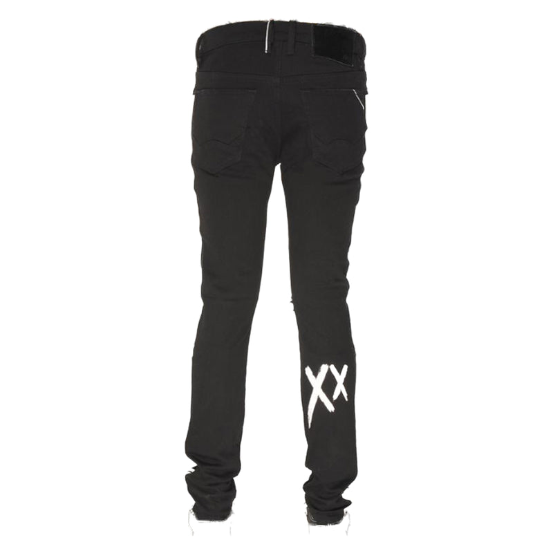 Cult of Individuality Jeans 69B9-SS06E Punk Super Skinny Black