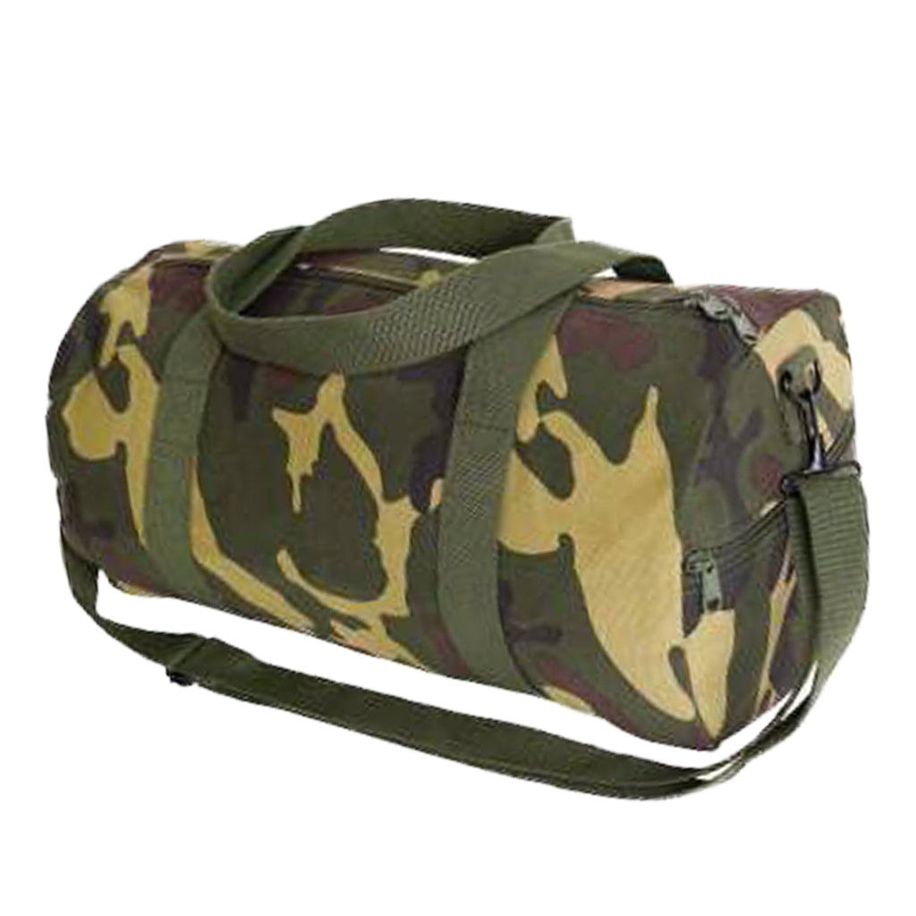 Rothco Canvas Shoulder Duffle Bag - Woodland Camo