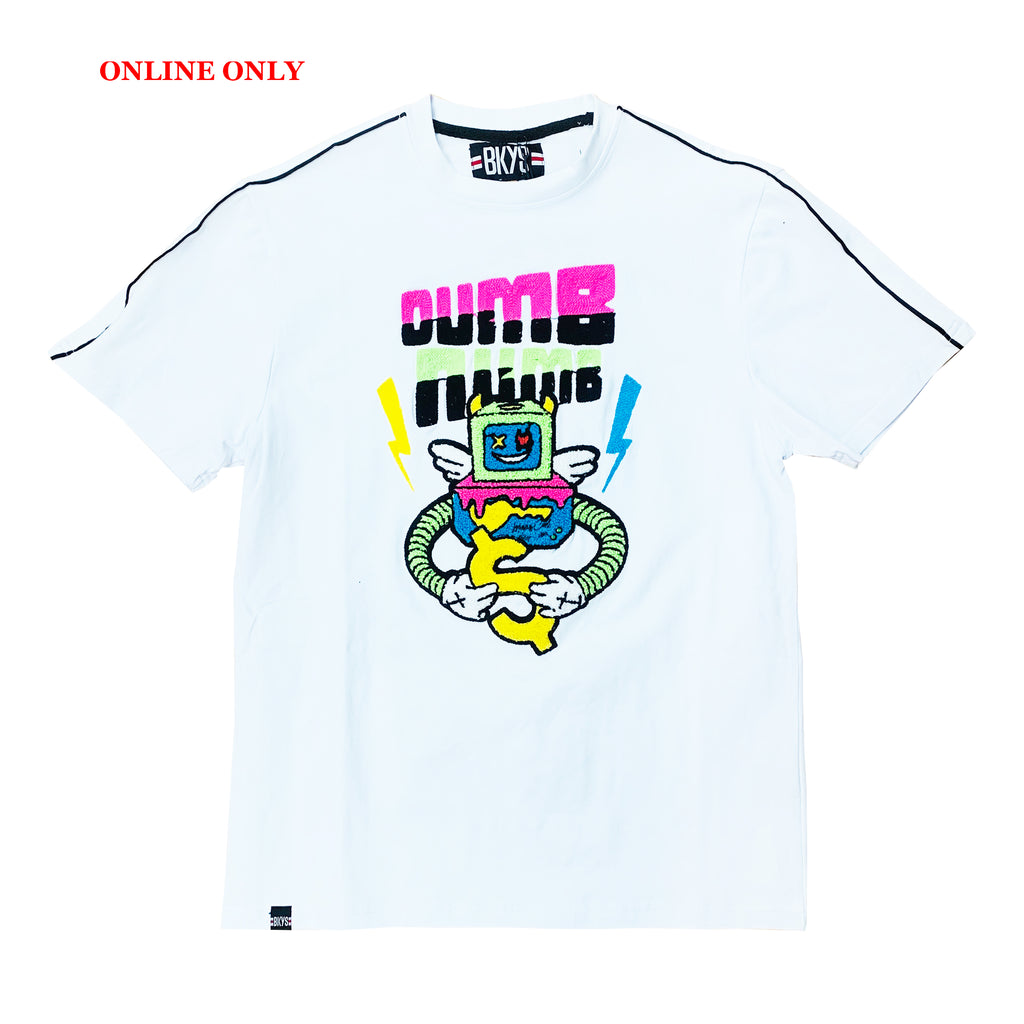"Black Keys S/S Tee ""Dumb Numb"" White"