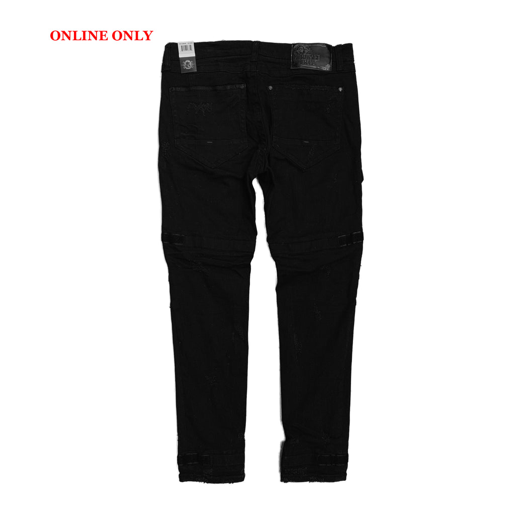Heritage By America Denim Cargos HA-WB-664 Black