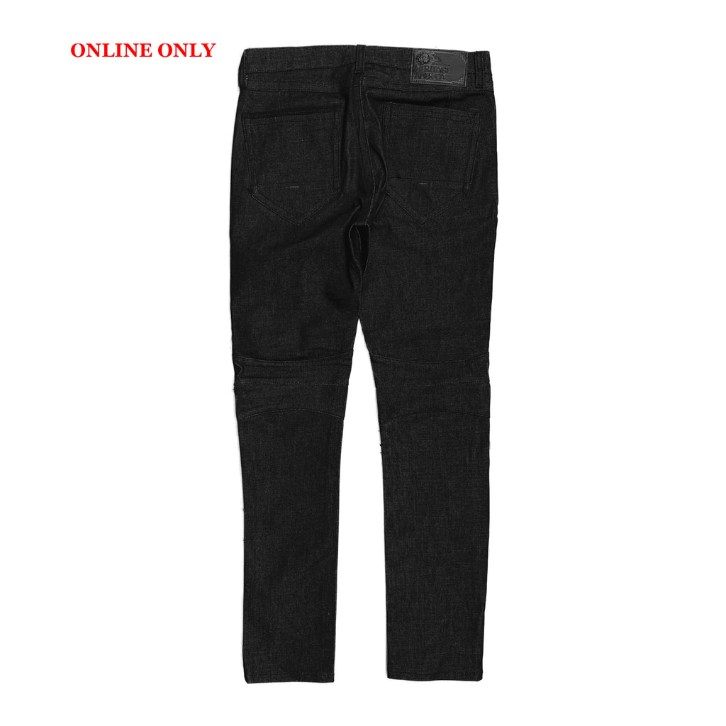 Heritage By America Denim Jeans HA-WB-714 Black Indigo