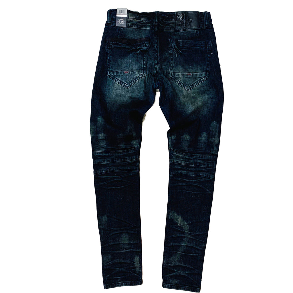 Heritage By America Denim Jeans HA-WB-717 Blue Black