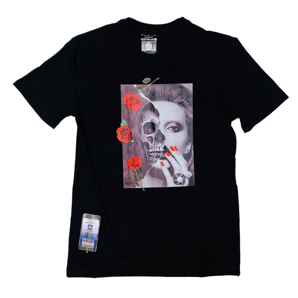 KLOAK S/S Tee LOKT007 Black