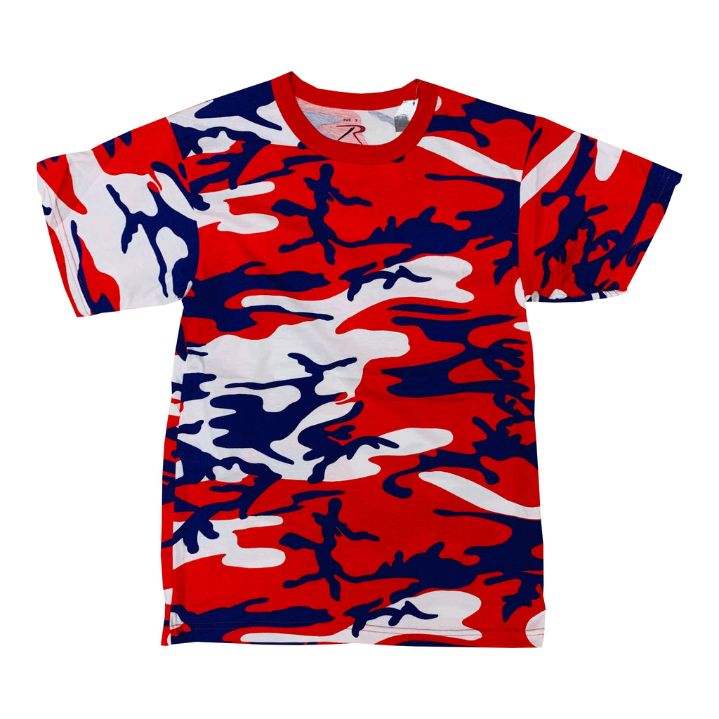 Rothco S/S T-Shirt 3192 Red White Blue Camo