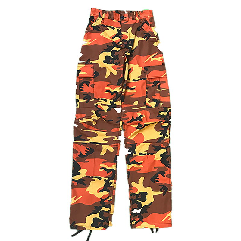 Rothco BDU Pants 8865 Orange Camo