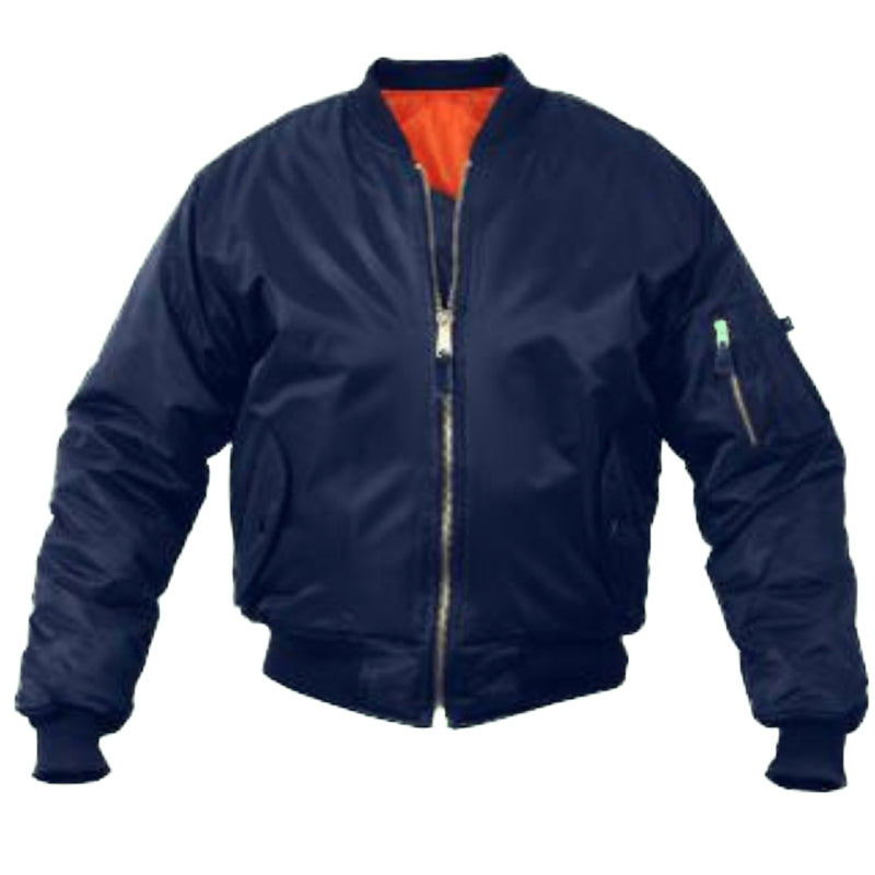 Rothco MA-1 Flight Jacket 7325 Navy Blue