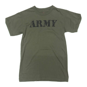 Rothco S/S T-Shirt 66400 Army Olive Drab