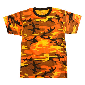 Rothco S/S T-Shirt 5997 Orange Camo