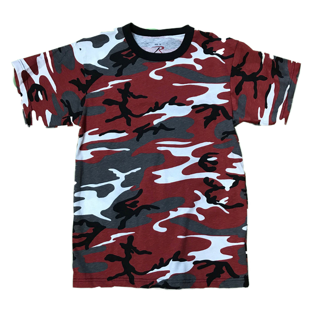 Rothco S/S T-Shirt 6006 Red Camo