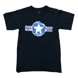Rothco S/S T-Shirt 63600 Air Corps Black