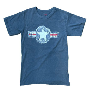 Rothco S/S T-Shirt 66500 Air Corps Blue