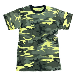 Rothco S/S T-Shirt 5994 Yellow Camo