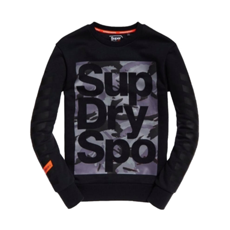 "Superdry Sport Crewneck Sweatshirt ""Black"""