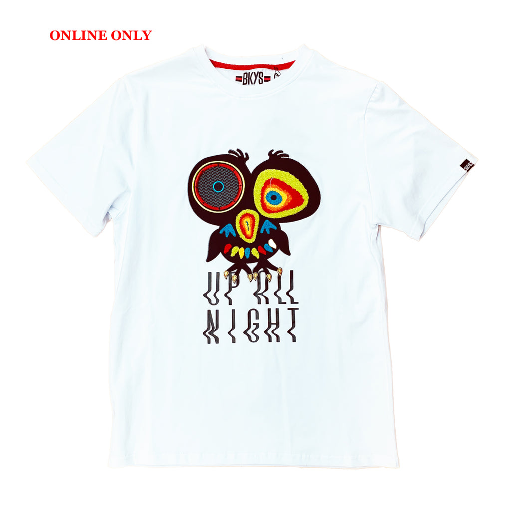 "Black Keys S/S Tee ""Up All Night"" White"