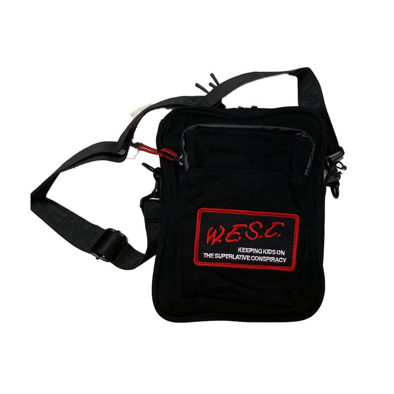 WESC Crossbody Bag Black