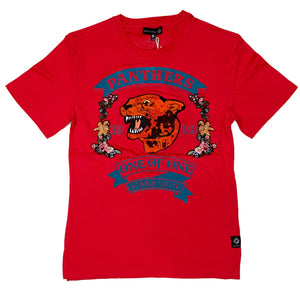 8IGHTH DSTRKT S/S Tee DS9012 Red