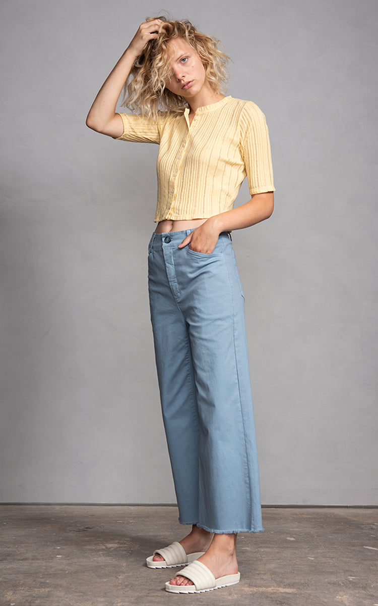 Novia High Waisted Crop Pants