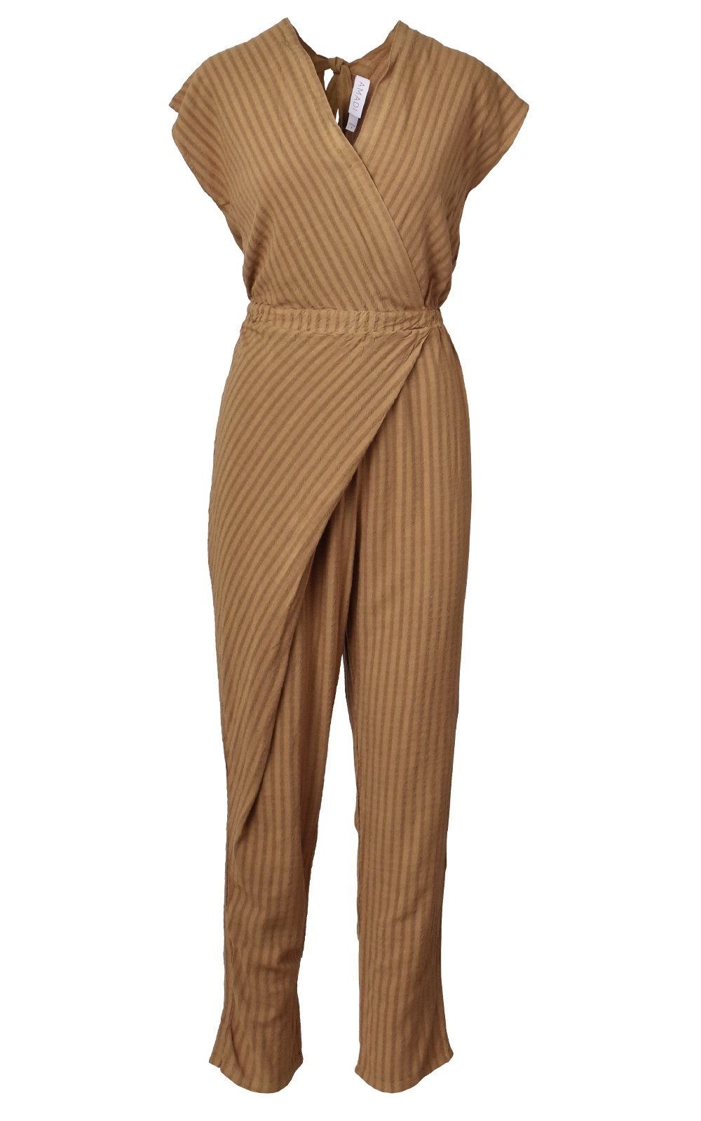 Reagan Faux Wrap Jumpsuit
