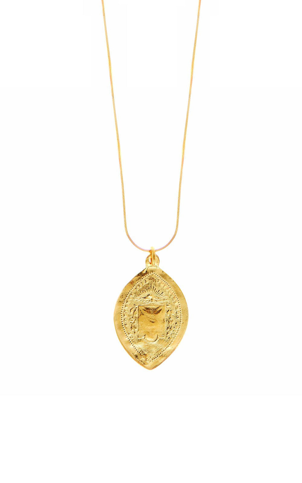 Carrie Elizabeth 14k Gold Vermeil Pendant Necklace