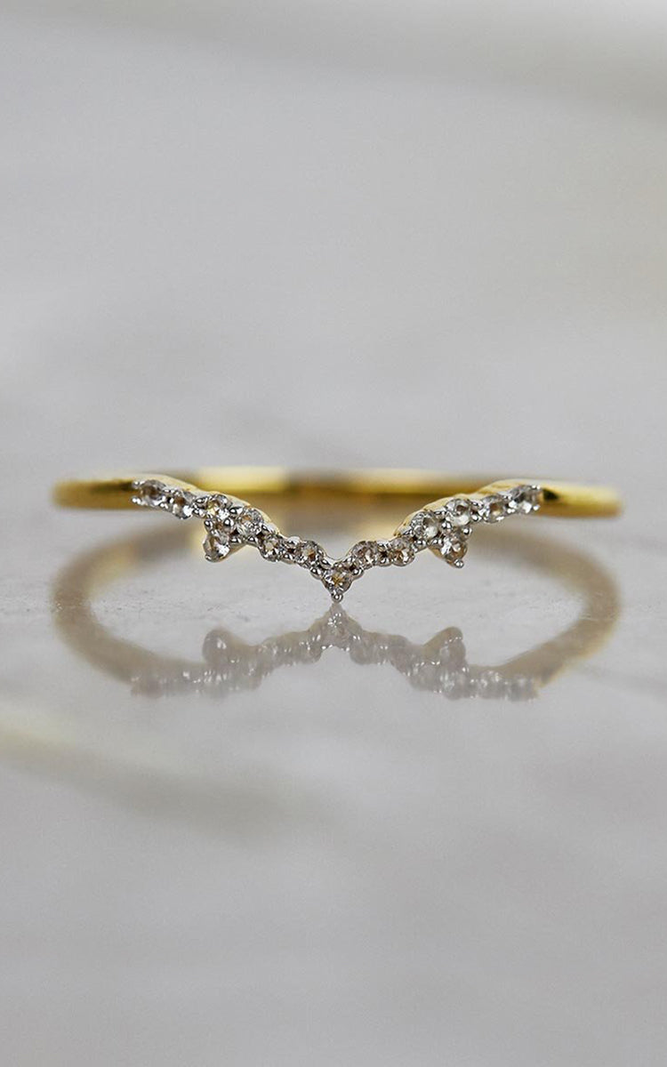 Milky Way Diamond Ring