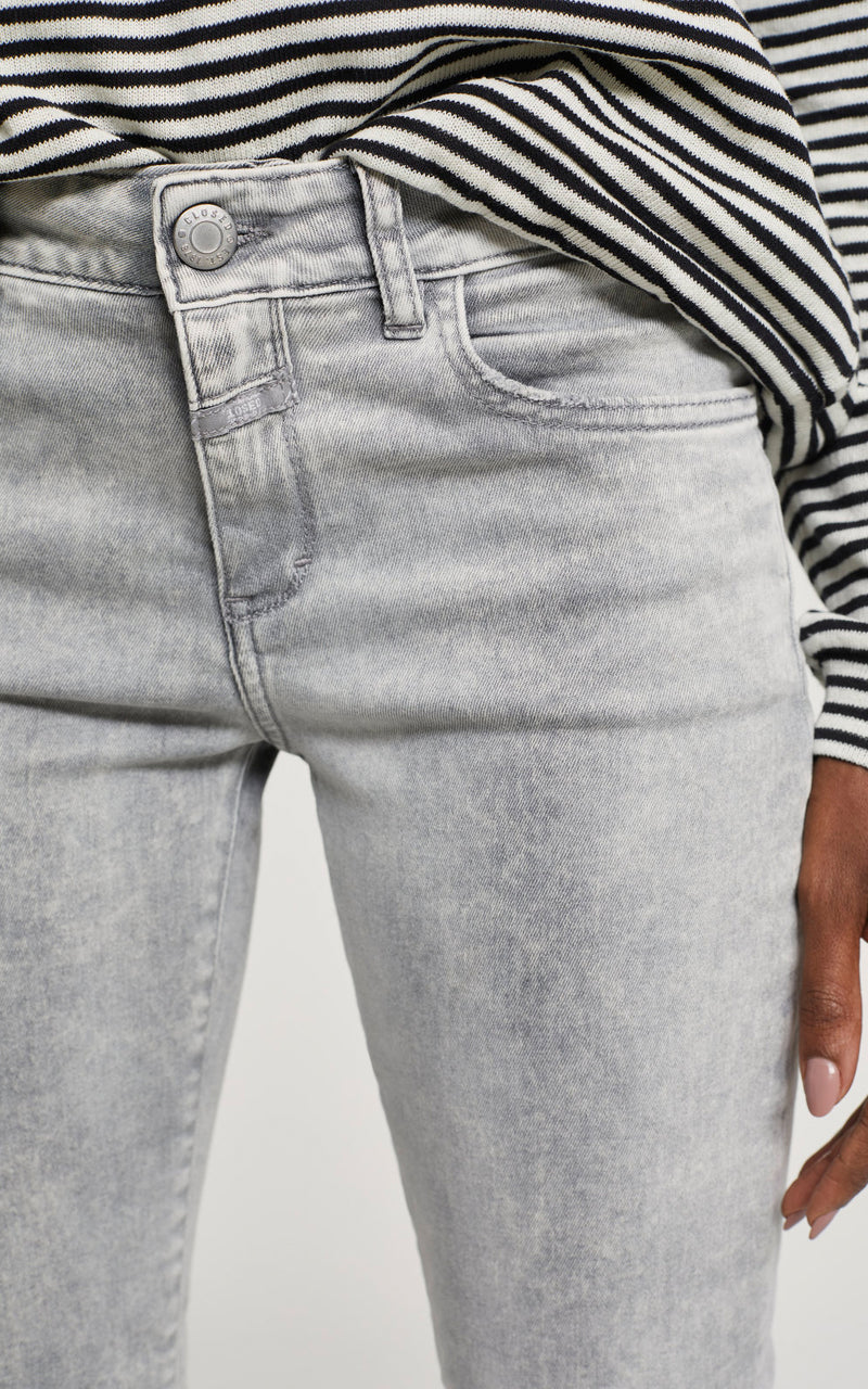 CLOSED Baker Light Grey Wash Mid Waist Denim Jeans
