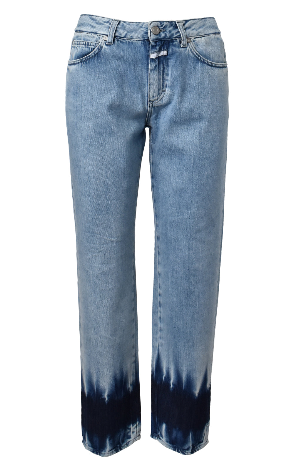 CLOSED Light Blue Dip Dye Denim Jay Jeans
