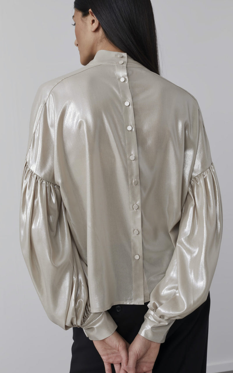 Metallic Blouse