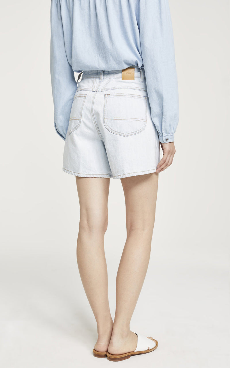 Worker '85 Light Blue Shorts