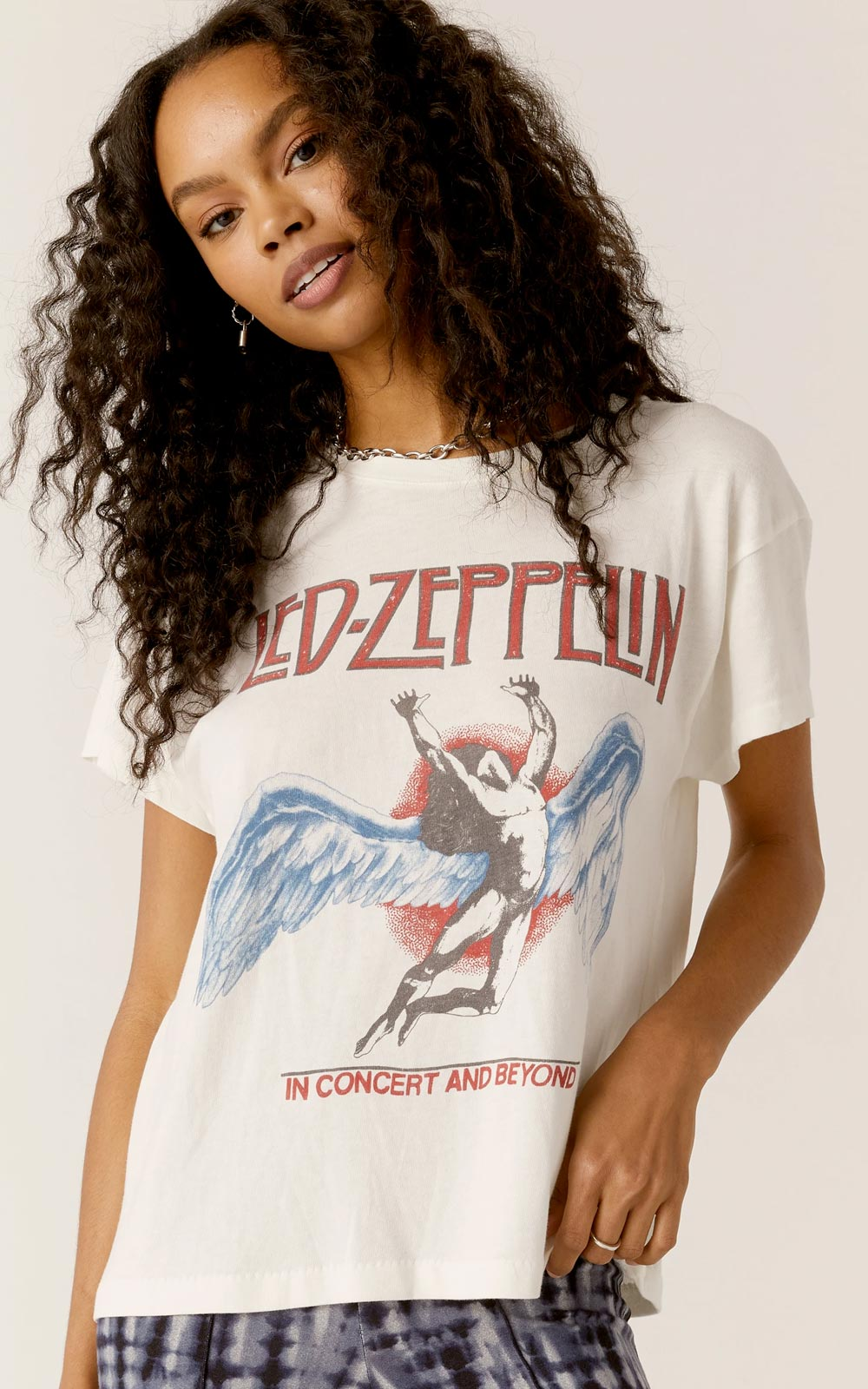 Led Zeppelin In Concert And Beyond Tour Tee