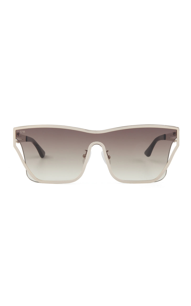 For Art's Sake Champagne D-Frame Outer Space Sunglasses
