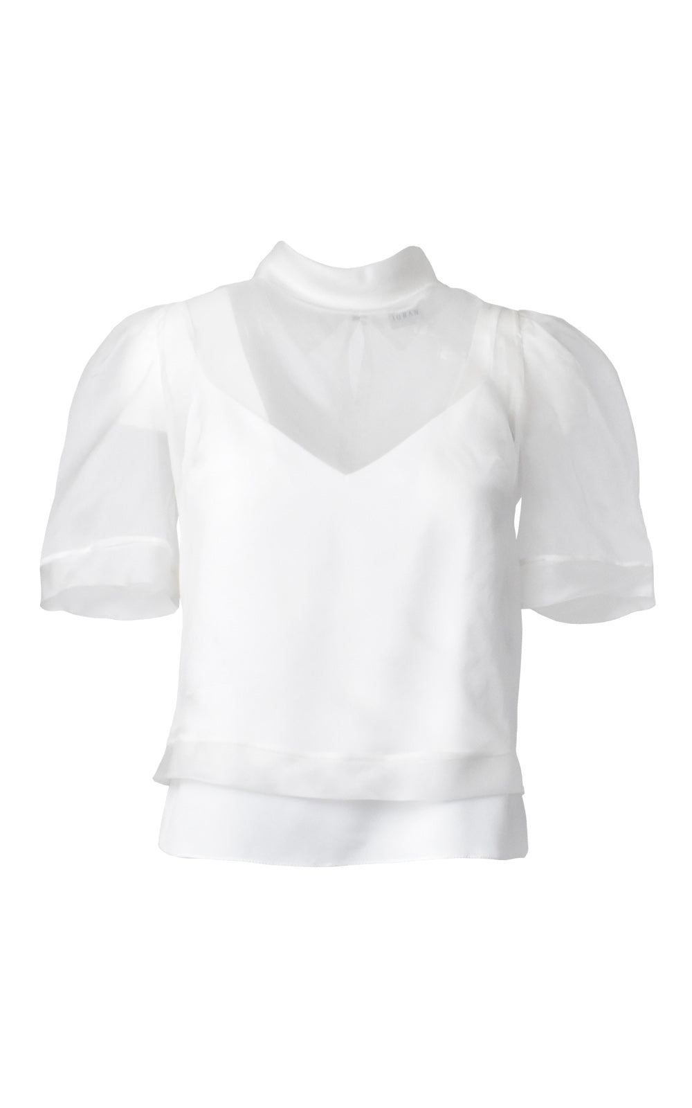 Silk Organza Top