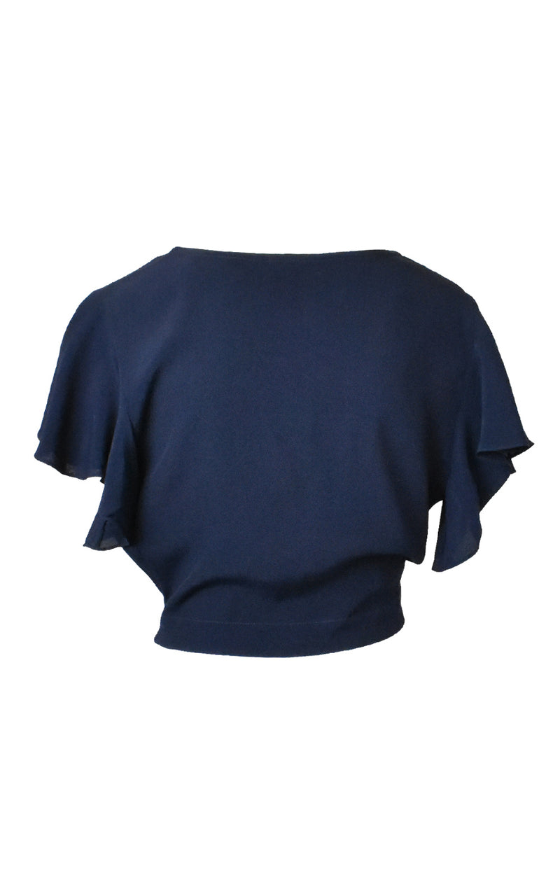 Twist Front Crop Top