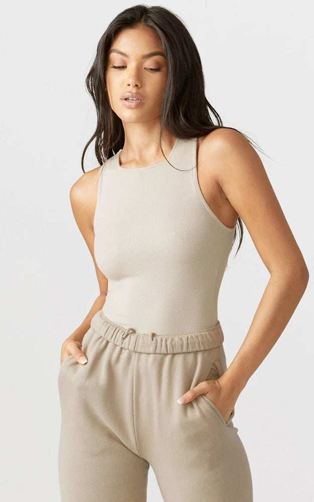 High Square Neck Tank