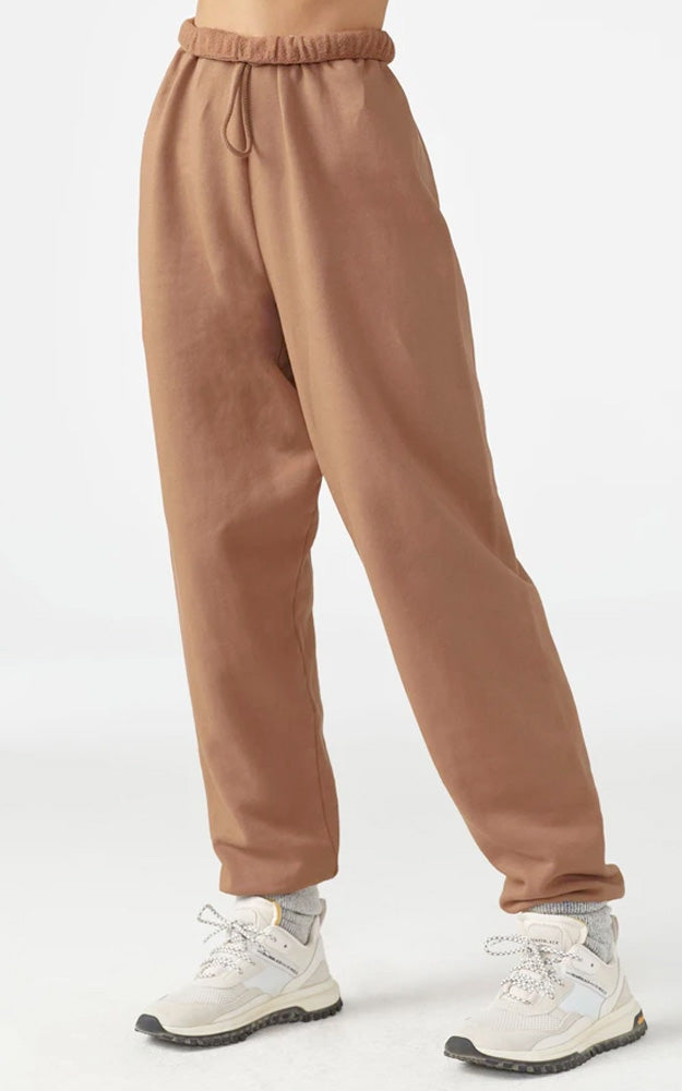 Joah Brown Oversized Jogger Terracotta