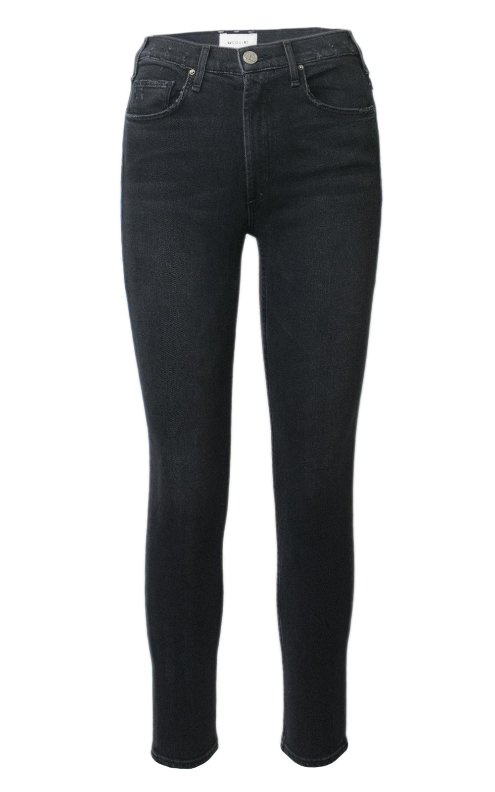 McGuire Black High-Rise Newton Skinny Jeans Knight Rider