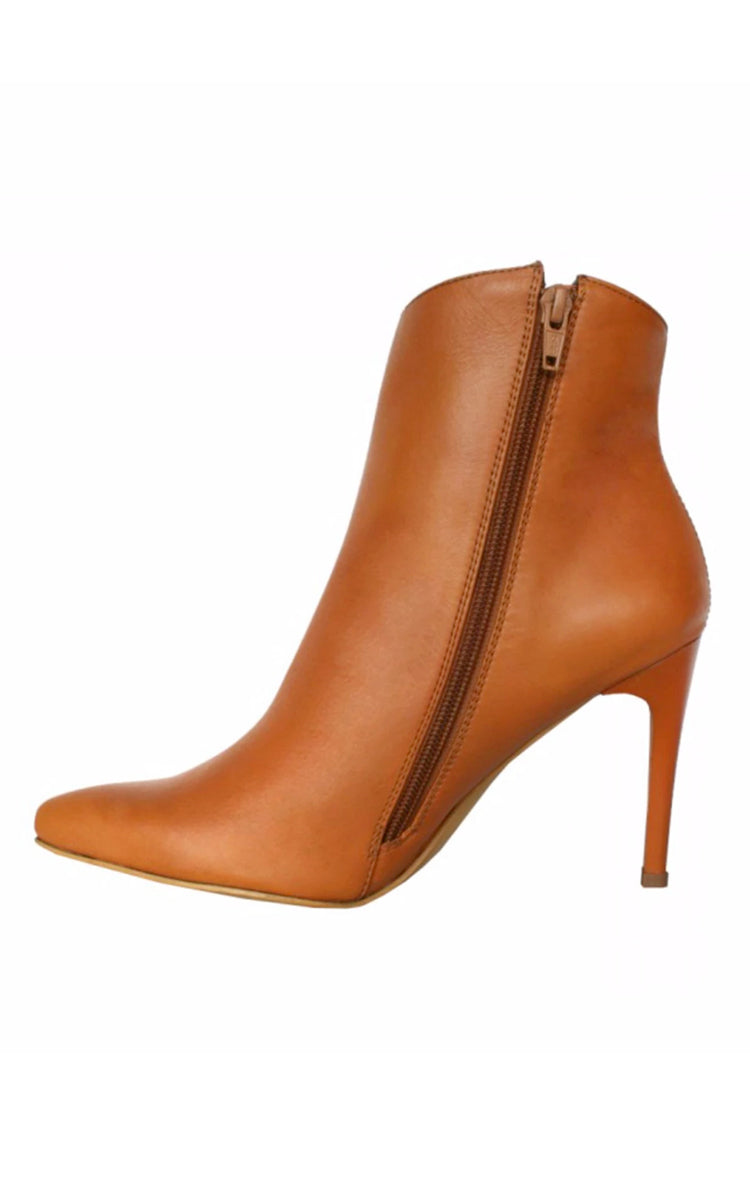 Stivali Radiance Stiletto Tanned Leather Bootie