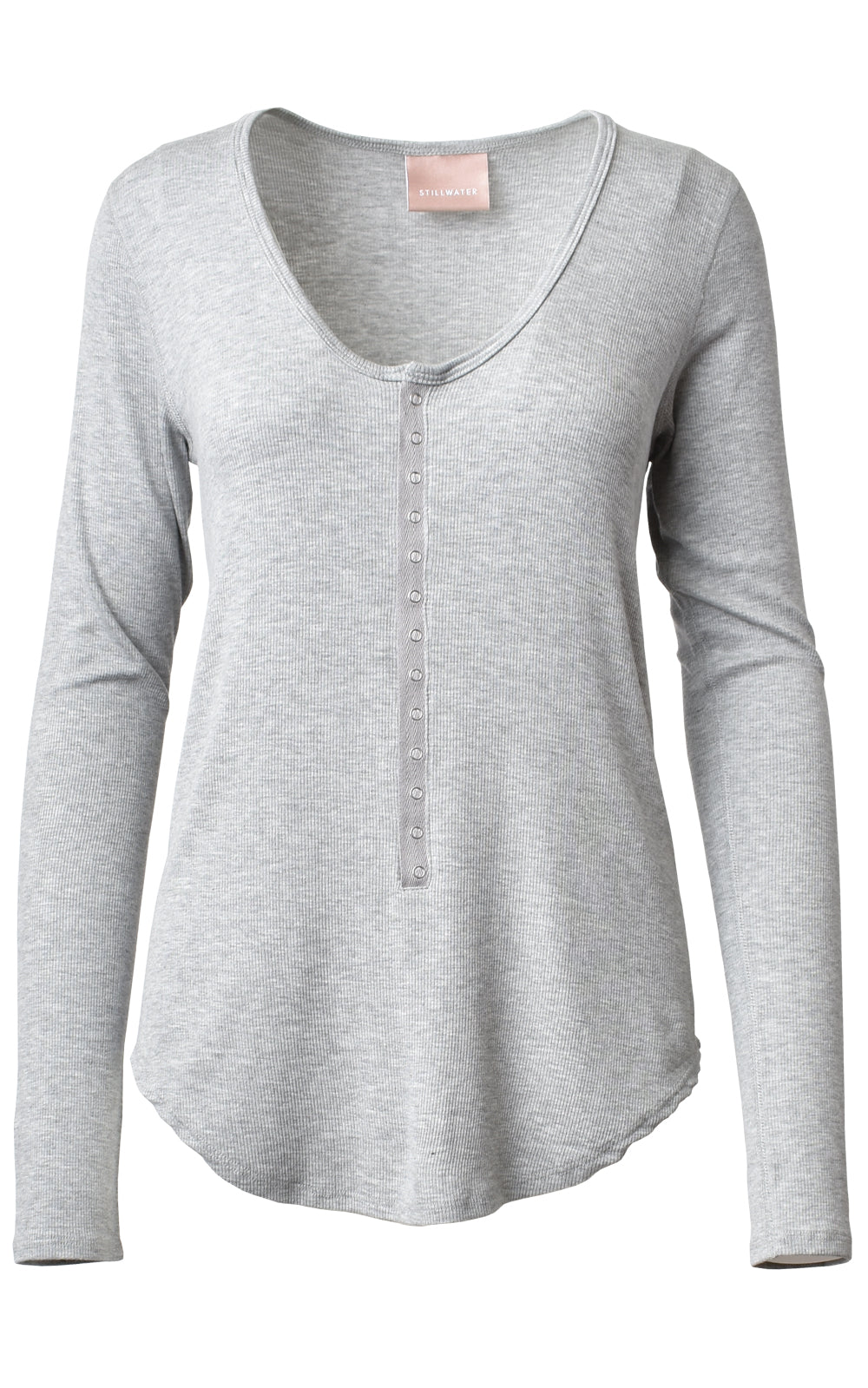 Snap Long Sleeve Henley