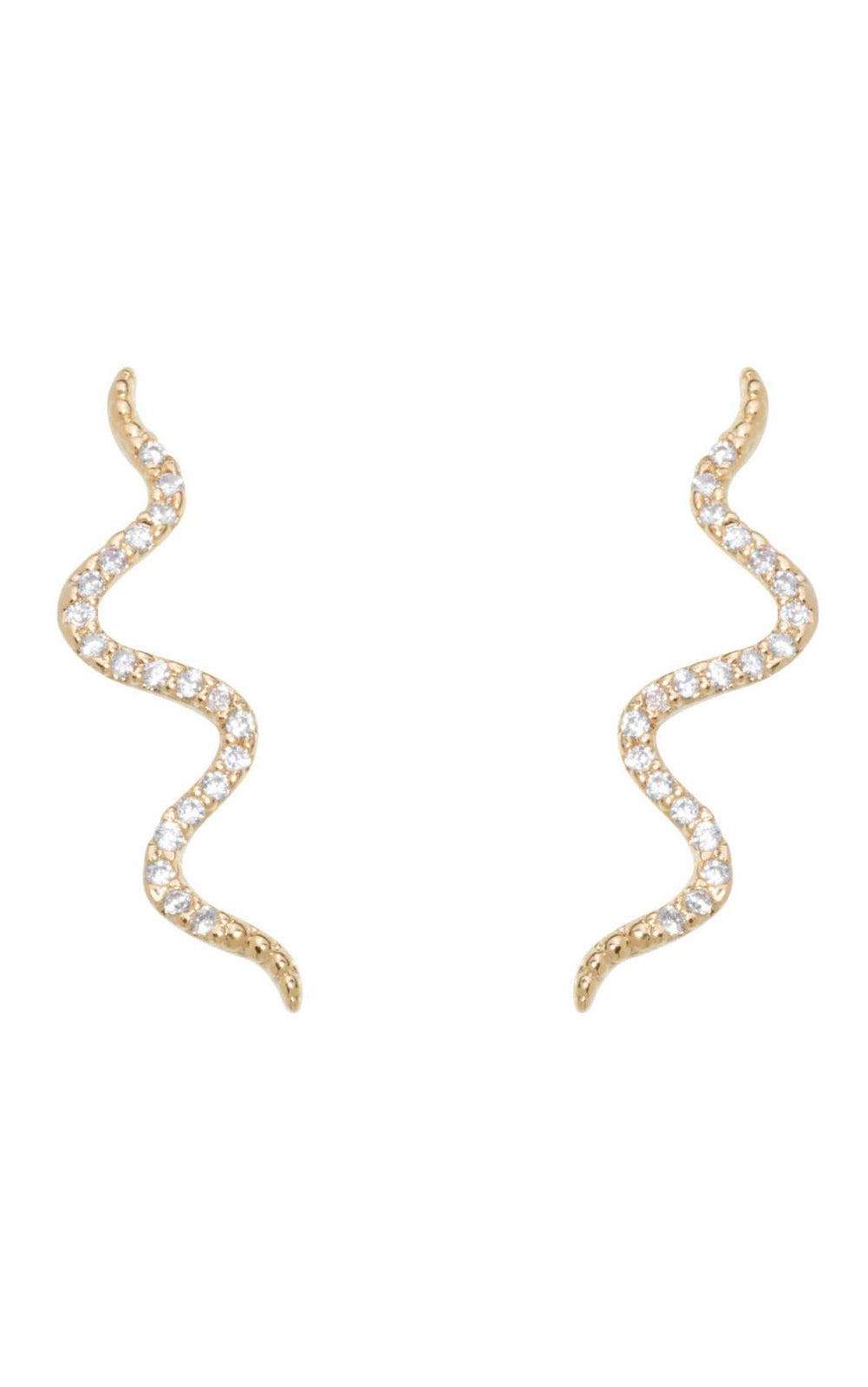 Serpent Climber Earrings