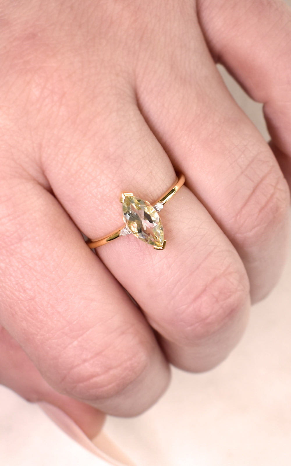 Simple Marquise Ring
