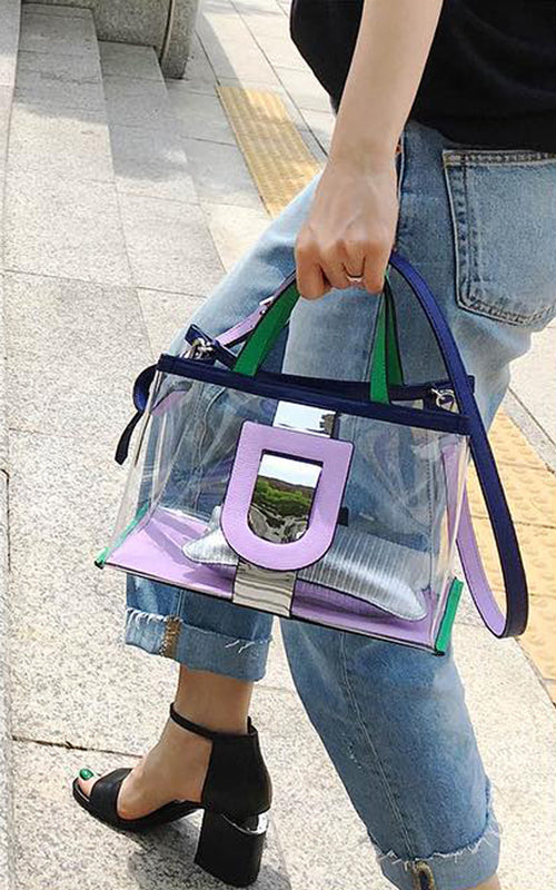 Harness Glass PVC Tote Bag