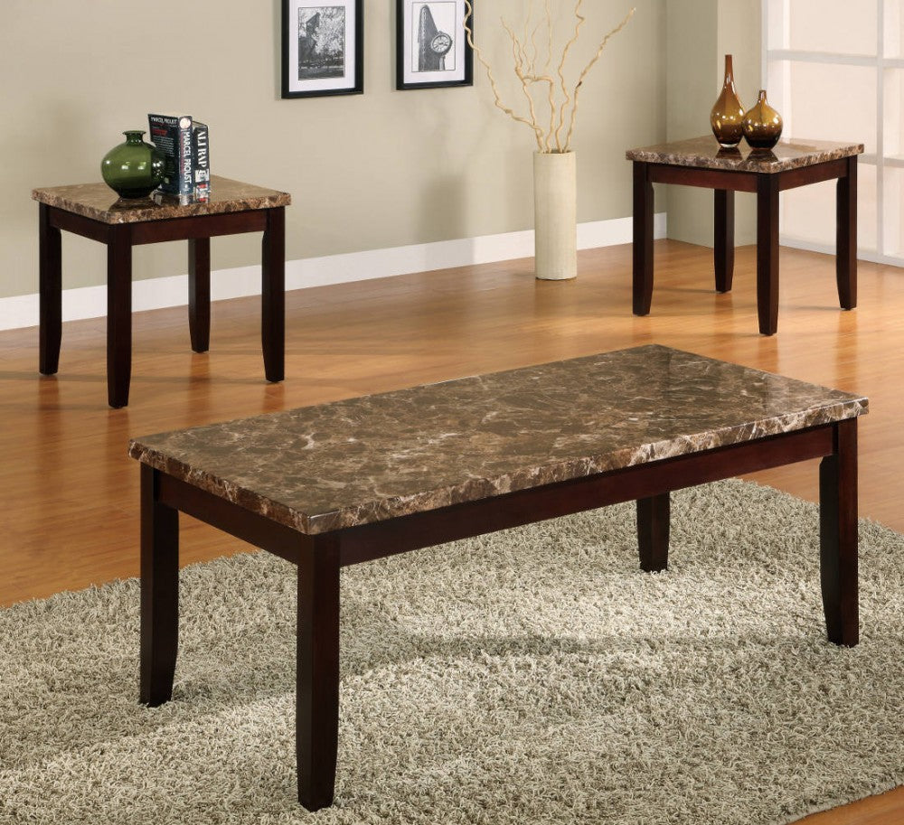 Ferrara 3pc Coffee Table Set