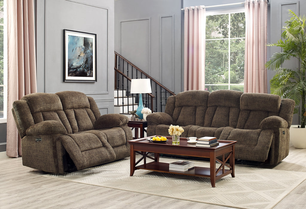 LAURA POWER SOFA AND LOVESEAT