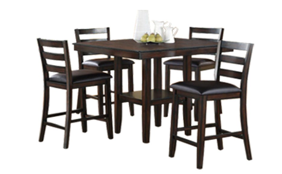 Tahoe 5pc Counter Height Table Set